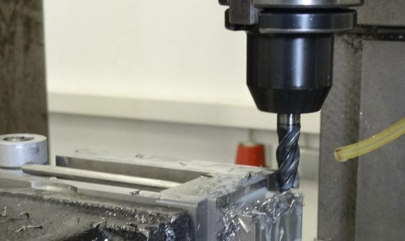 An Efficient Device for Drilling into Metals, Wood and Hard Surfaces